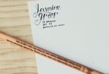 Letter Envy / Handlettering inspiration