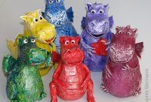3D zvířata