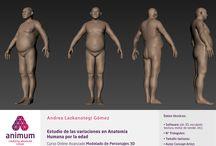 LA EDAD - Animum / Ejercicios - Humano realista estudio de la edad