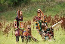 Demiurg Art / Odzież wykonana ręcznie ; na szydełku, na drutach, malowana ręcznie.
