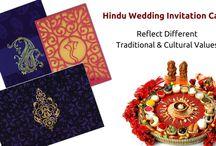 HINDU WEDDING INVITATION CARDS / A Largest collection of elegantHindu wedding Invitation cards.