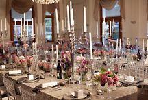 Elegant Pink Wedding Flowers / 0