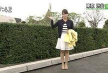 Ran Watanabe NHK Weather / Apresentadora da Previsão do Tempo NHK News