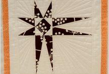 Star Blocks from Charlotte Modern Quilt Guild