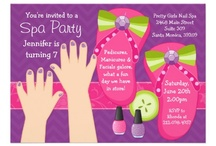 Reese Candy Spa Birthday Party