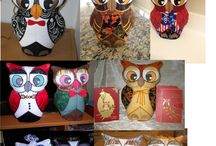ITH Quilted Door Stoppers / Our Famous Hootie