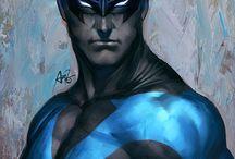 my Superheroes / by R J