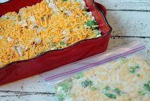 Freezer make-ahead meals