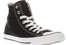 Chucks / I don't really do fashion but I do like converse.