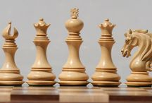 Beauty of chess pieces