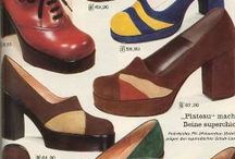 1970s Shoes Fashions