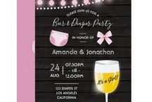 Dadchelor Parties / Dad Baby Shower invitations