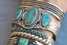 NAVAJO - ZUNI  - HOPI ETC.  SILVERSMITH / NORTH AMERICA - NATIVE  SILVERSMITHS