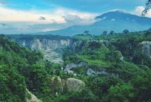 Nature / Ngarai sianok , west sumatra , indonesia