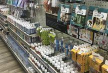 Used shop shelving/ used retail shelving / used shopfittings