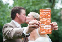 Trouwkaarten / Leuke originele trouwkaarten, op maat gemaakt!