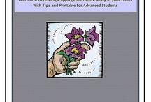 Homeschool - Nature Notebook / by Elizabeth Quandt-Evans