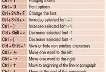 cheat sheets keyboard functions