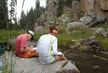 Experiential Education Trips, Fall 2014 / Beautiful scenery, great New Mexico weather, and a wide range of activities marked the first Experiential Education trips of the 2014-15 school year.