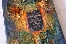 Mixed media love!! / Various mixed media work that I love :) / by Joanne Browne