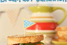 Sandwiches, Salads + Dressings