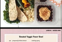 Food - Healthly Eating / 28 Day Challenge - Fitgirls/ Clean Eating meal plans