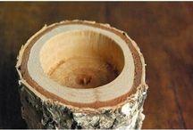 Napady z dreva