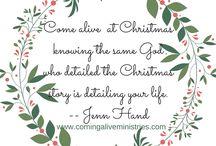 Coming Alive at Christmas