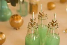 Pinning Party: Mint and Gold