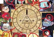 The Mystery of Gravity Falls / Been wanting to collect info on GF. This would be a good way to crack it's codes and mysteries! UPDATE: I'm GF trash