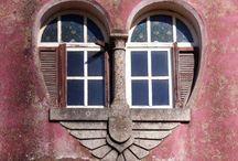 Balconi e finestre...