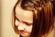 女の子のヘアスタイル