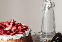 sweet cake.