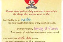 Spirituality, Affirmations and Gratitude