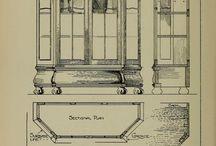 Мебель эскизы