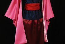 Mulan's costume