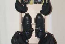 Obrary-Roller Derby Gear Rack / Roller Derby Gear Rack is a wall mountable rack to hold all of your derby gear. Order one today and get your derby gear organized. Follow us and check out our other boards for more cool projects and ideas!