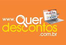 Portal Quer Descontos / Site de Descontos diários