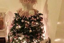 Kerstboom jurk