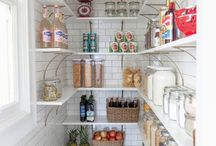 Perfect Pantries / From pots and pans to perishables and non perishables, these pantries hold it all in style.
