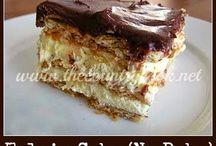 NO BAKE CAKES / by sladja turkovich