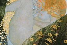 Gustav Klimt / Gustav Klimt paintings-Life Ball© Inge Prader