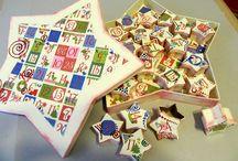 Sterne basteln für Weihnachten – Ideen mit Anleitung / Wir haben einige schöne Bastelideen für Sterne, die Sie größtenteils auch mit Kindern basteln können. Alle Ideen haben eine Schritt-für-Schritt Anleitung mit kompletter Materialliste!