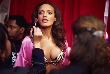 """ANGEL Selita Ebanks CAYMANIAN / Selita Ebanks (born 17 February 1983) is a Cayman-born fashion model and actress. Ebanks has worked for high fashion brands Neiman Marcus and Ralph Lauren, and appeared in magazines such as the Sports Illustrated Swimsuit Issue, Vogue, and Glamour, but she is best known for her work with Victoria's Secret, as one of the brand's """"Angels"""" from 2005 to early 2008. Walks: 6 from 2005 - 2010."""