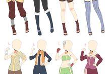 Naruto Ninja inspired Outfit
