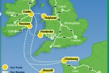 Transport Links / Here you will find links to the ferry and airline routes to and from Ireland