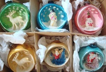 Christmas, Vintage Decorations / by Vickie Nicholas