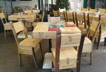 sedie e tavoli