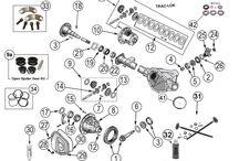 Jeep Liberty KJ Parts Diagrams / by Morris4x4Center.com