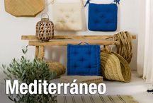 Mediterráneo / Espacios llenos de luz. El uso de maderas, metales y fibras naturales revelan admiración en esta tendencia que contagia bienestar.